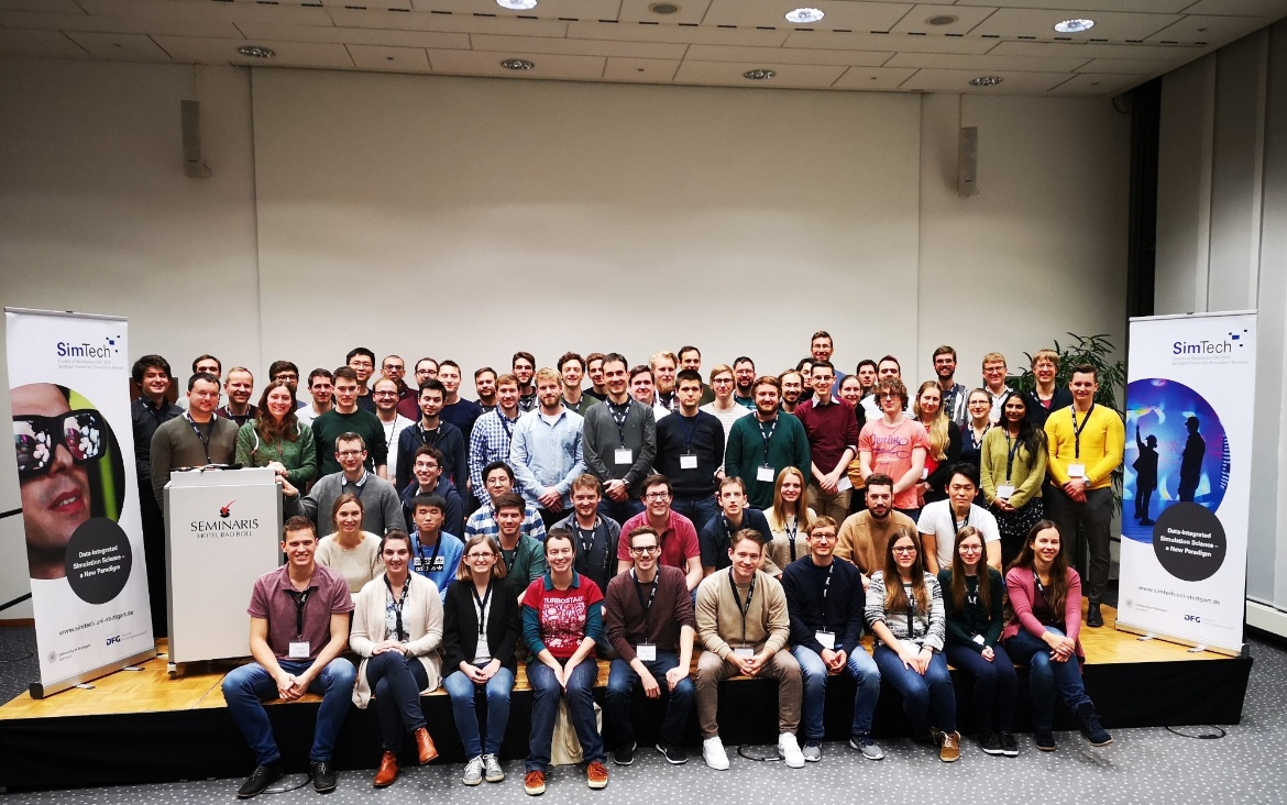 PhD Students of the GS SimTech (Status Seminar 2019)